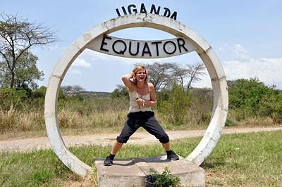 Uganda - na liniji ekvatora