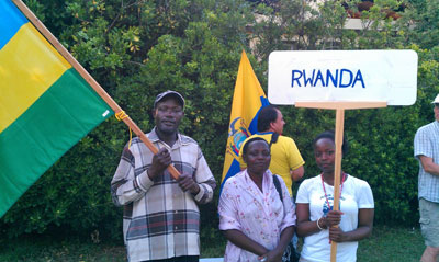 Rwandans visiting Bosnia and Herzegovina