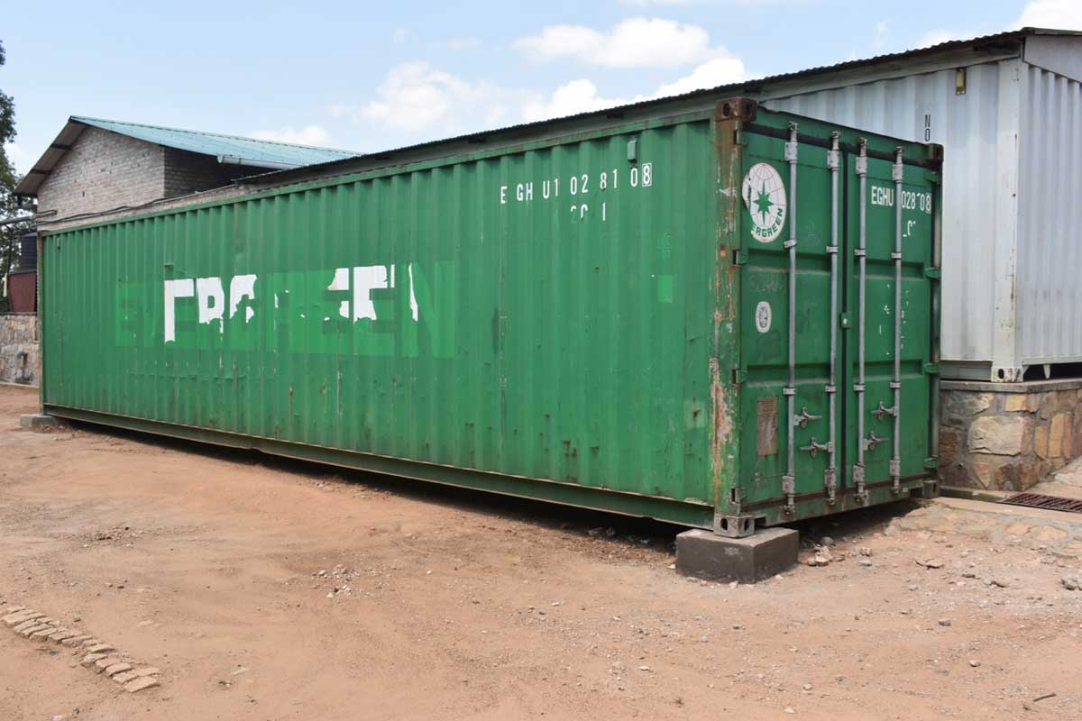 Another Container has Arrived