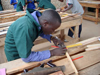 carpentry section