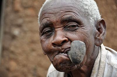 Margarette Mushoga, die ältesteste Frau in Ruanda