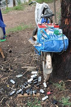 Ein Akkumulator zum Aufladen eines Akkus für Handys