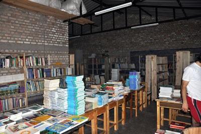 Die vorübergehende Bibliothek