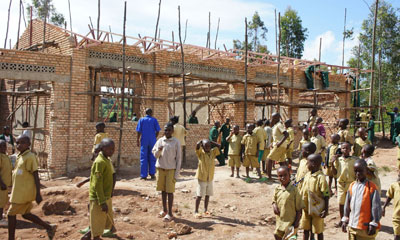 construction of another primary school building